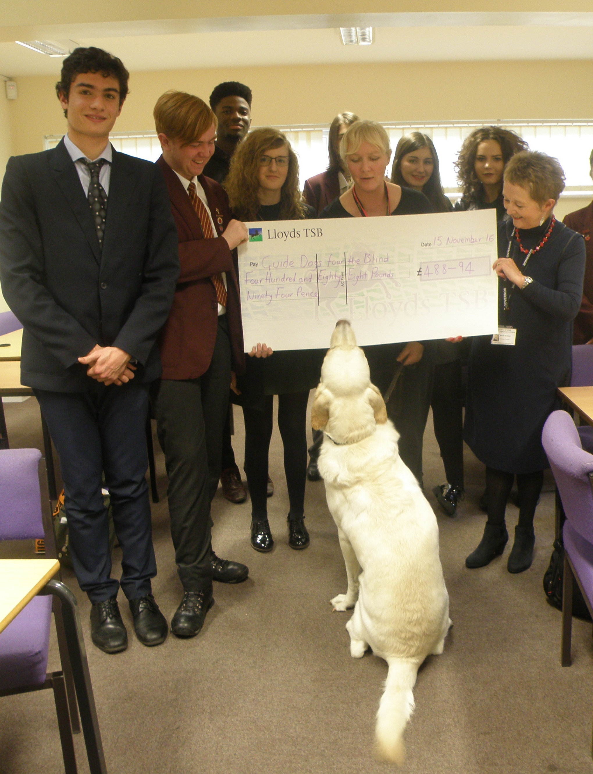 Guide Dogs for the Blind Donation