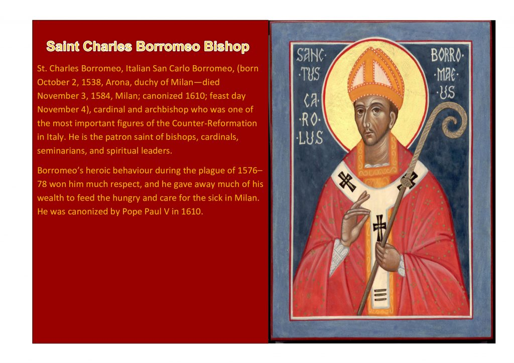 Saint Charles Borromeo Bishop