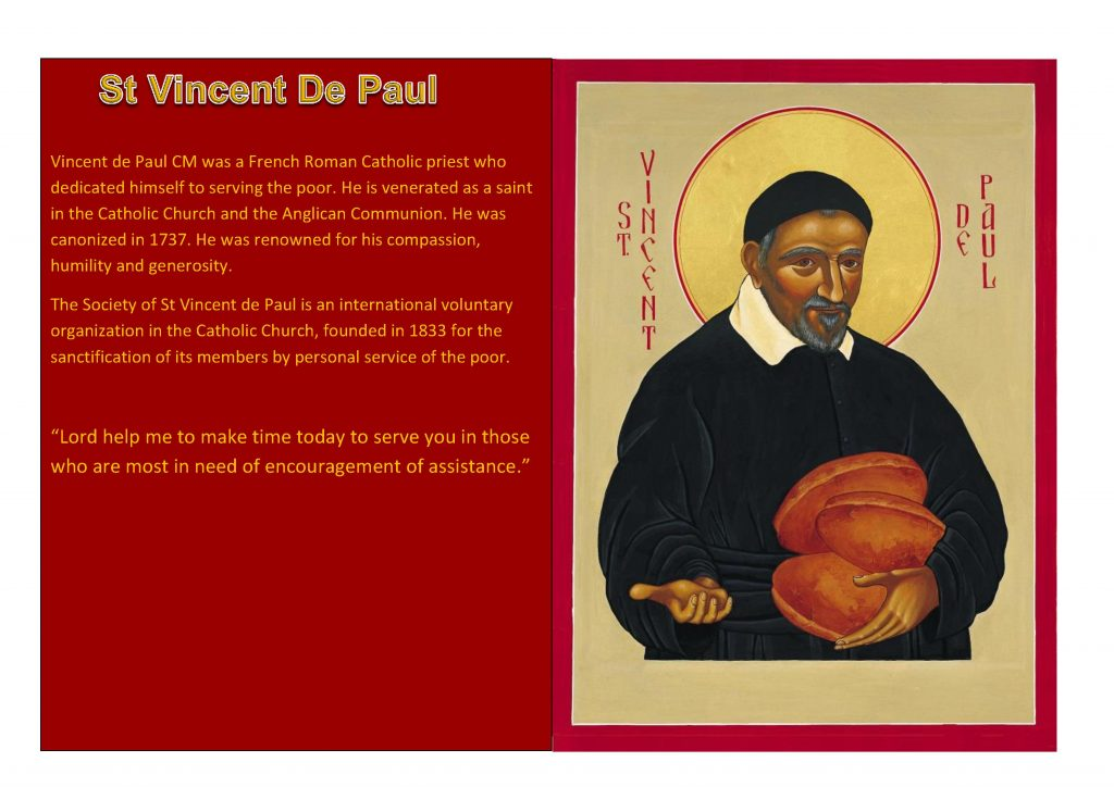 Saint of the week Vincent De Paul 2