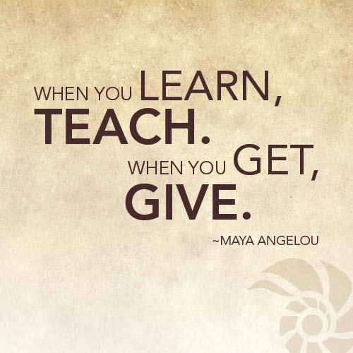 Thought of the Week Giving