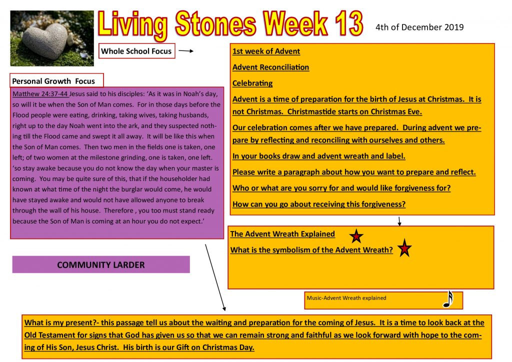 Week 13 Tutor time plan and resources
