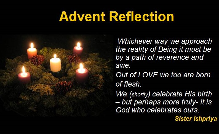 Week 16 Advent Reflection