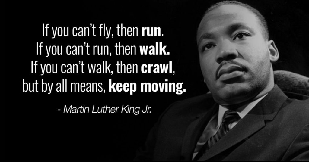 courage Martin Luther King