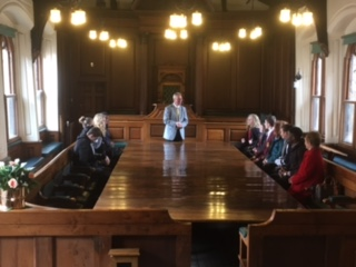 Student Council Guildhall Visit – Monday 24th April 2017