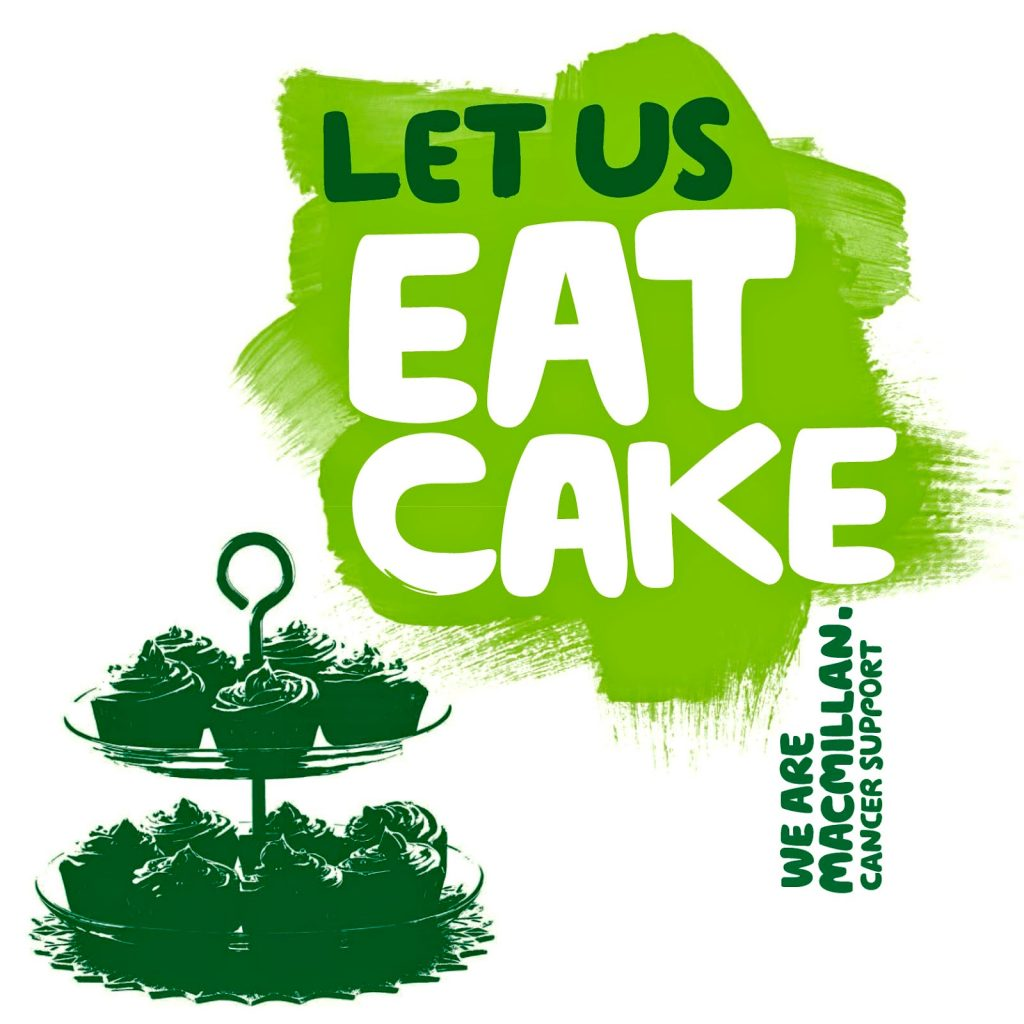 Macmillan Cancer Support – Cake Sale