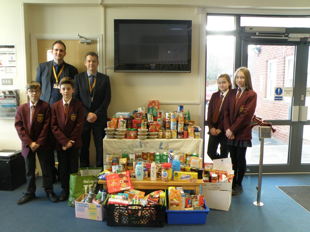 Lincoln Community Larder – Food Collection