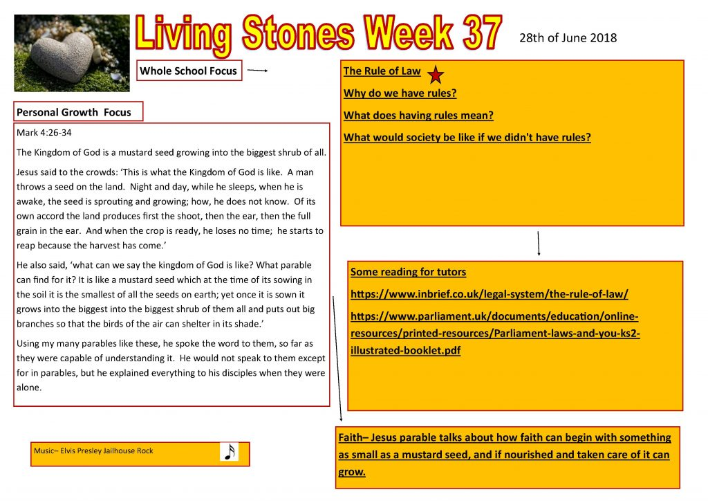 living stones  u2013 weekly update  u2013 st peter and st paul catholic voluntary academy