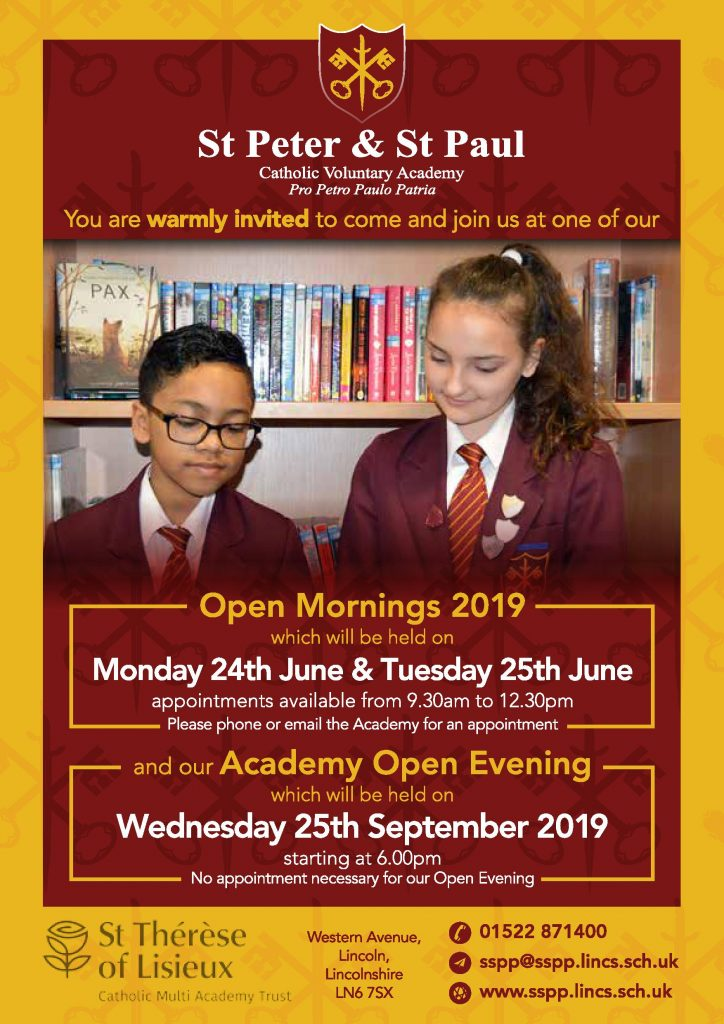ST P + ST P - open mornings + evening 2019